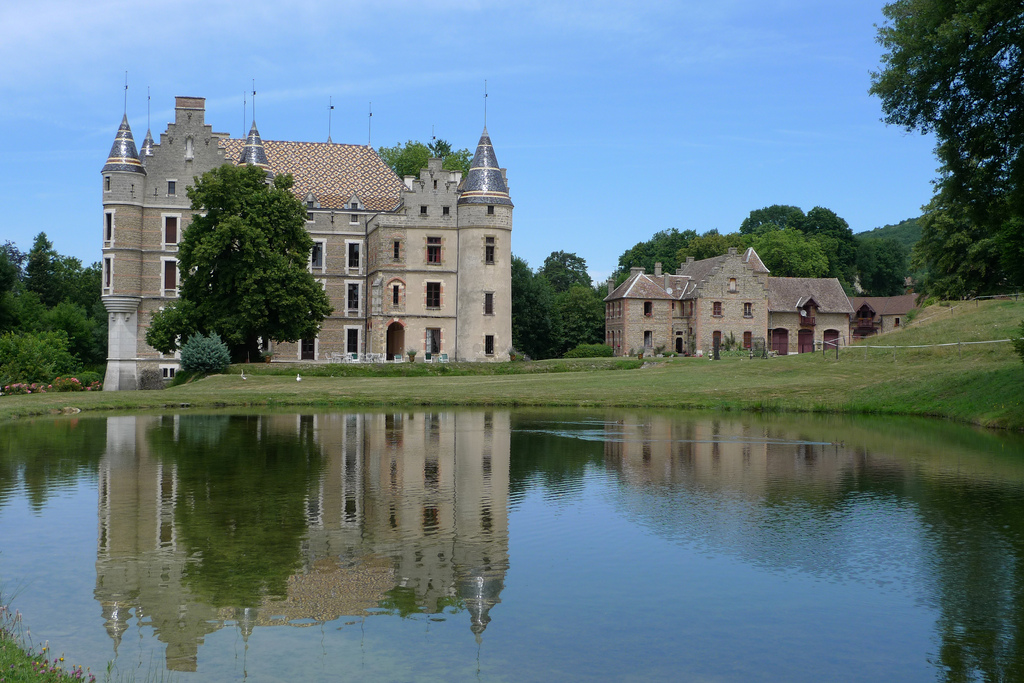 Salle château de Pupetière Châbon / Virieu 38