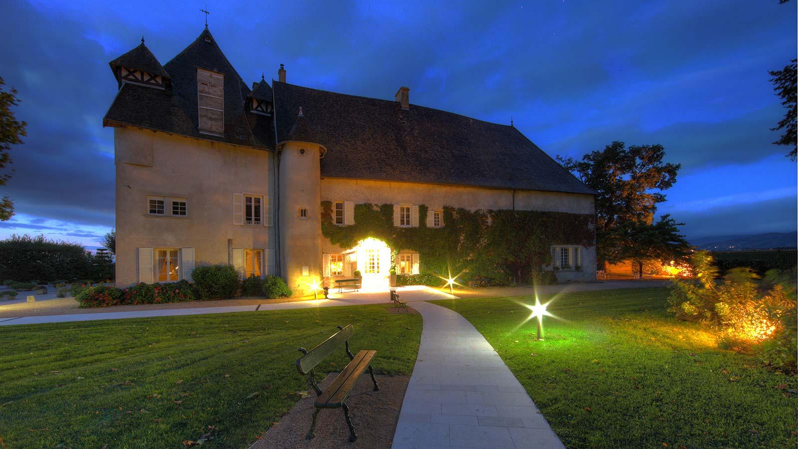 Salle château de Pizay beaujolais