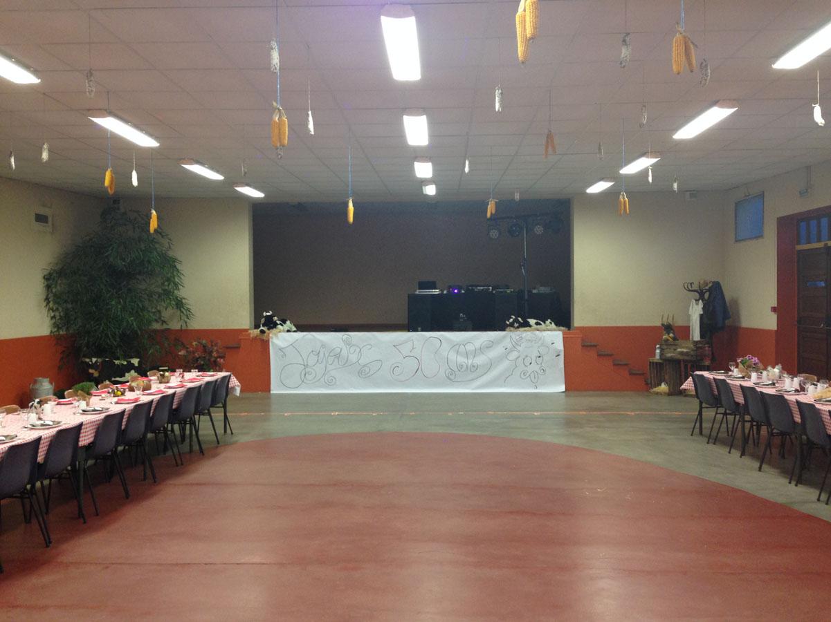 Salle des fêtes de Vezeronces