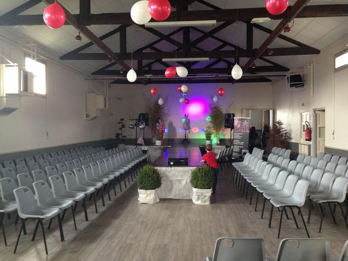 Salle des fêtes de Doissin